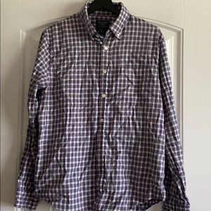 Abercrombie plaid shirt
